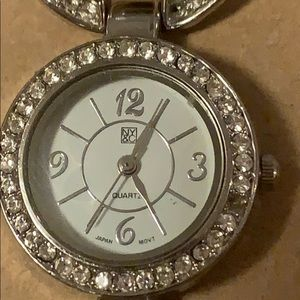 NY&C women's watch silver bracelet style strap